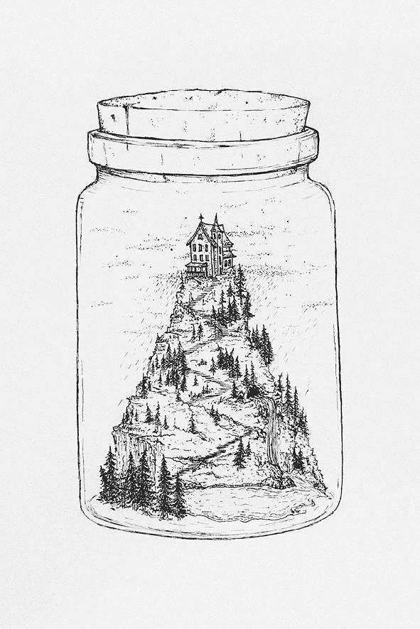 Artprint_thewolvesandthemoon7