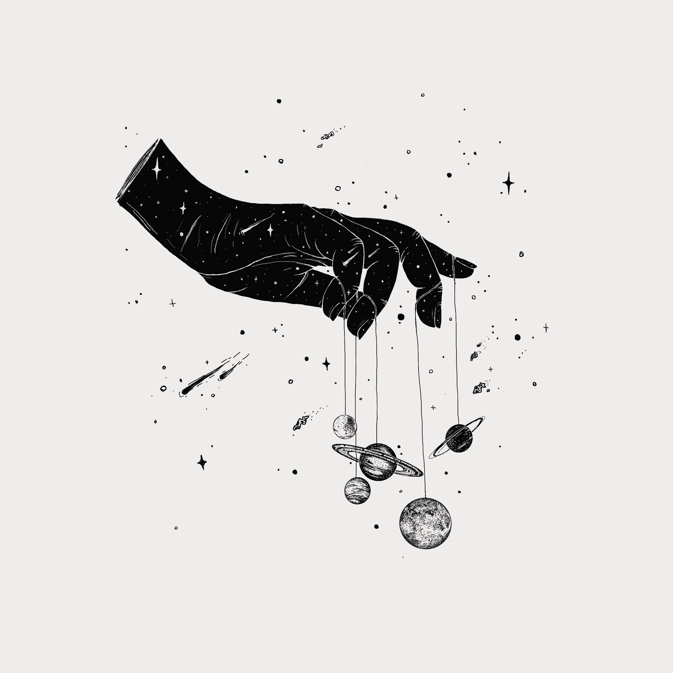 Hand – Planets