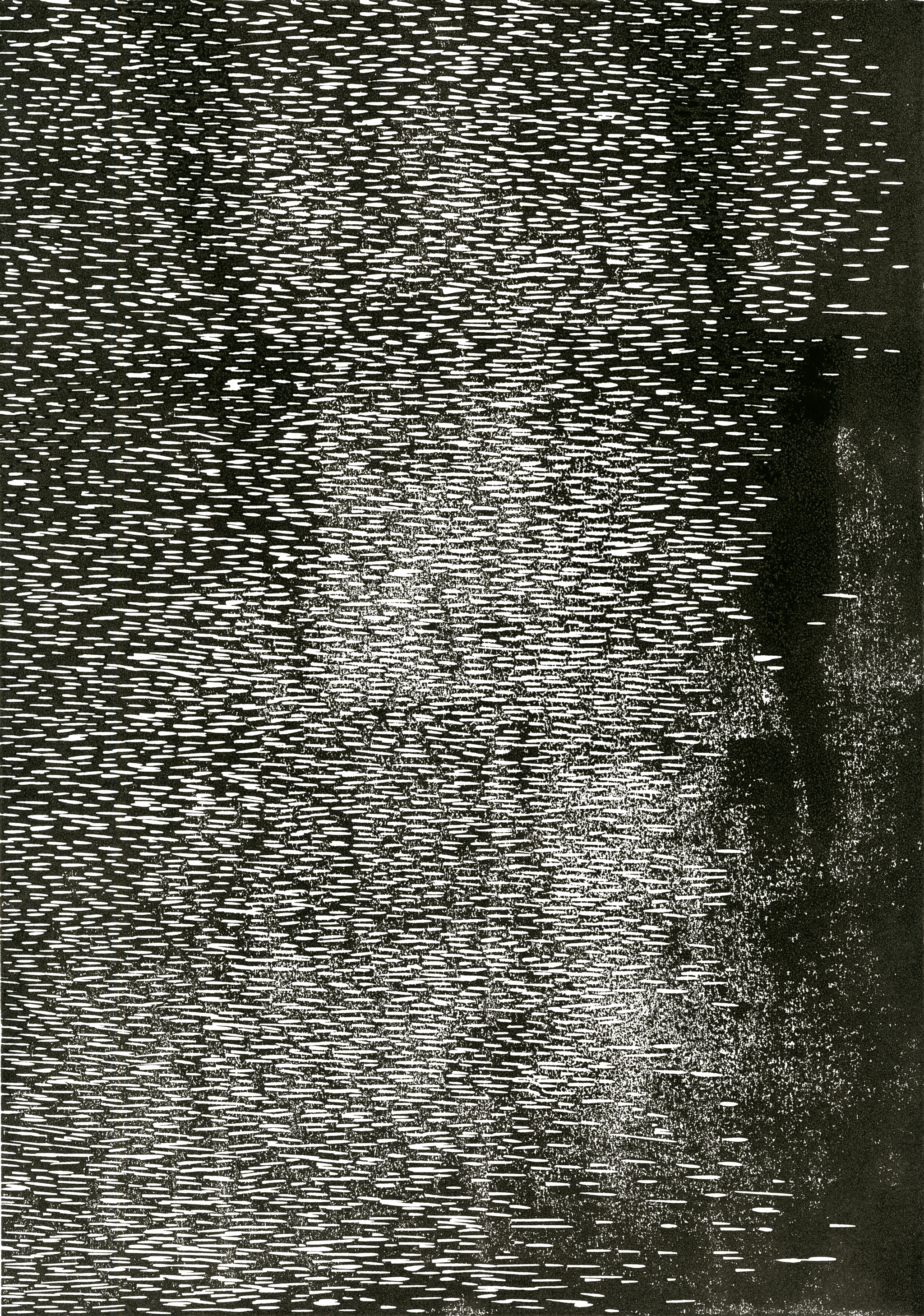 linocut-rain
