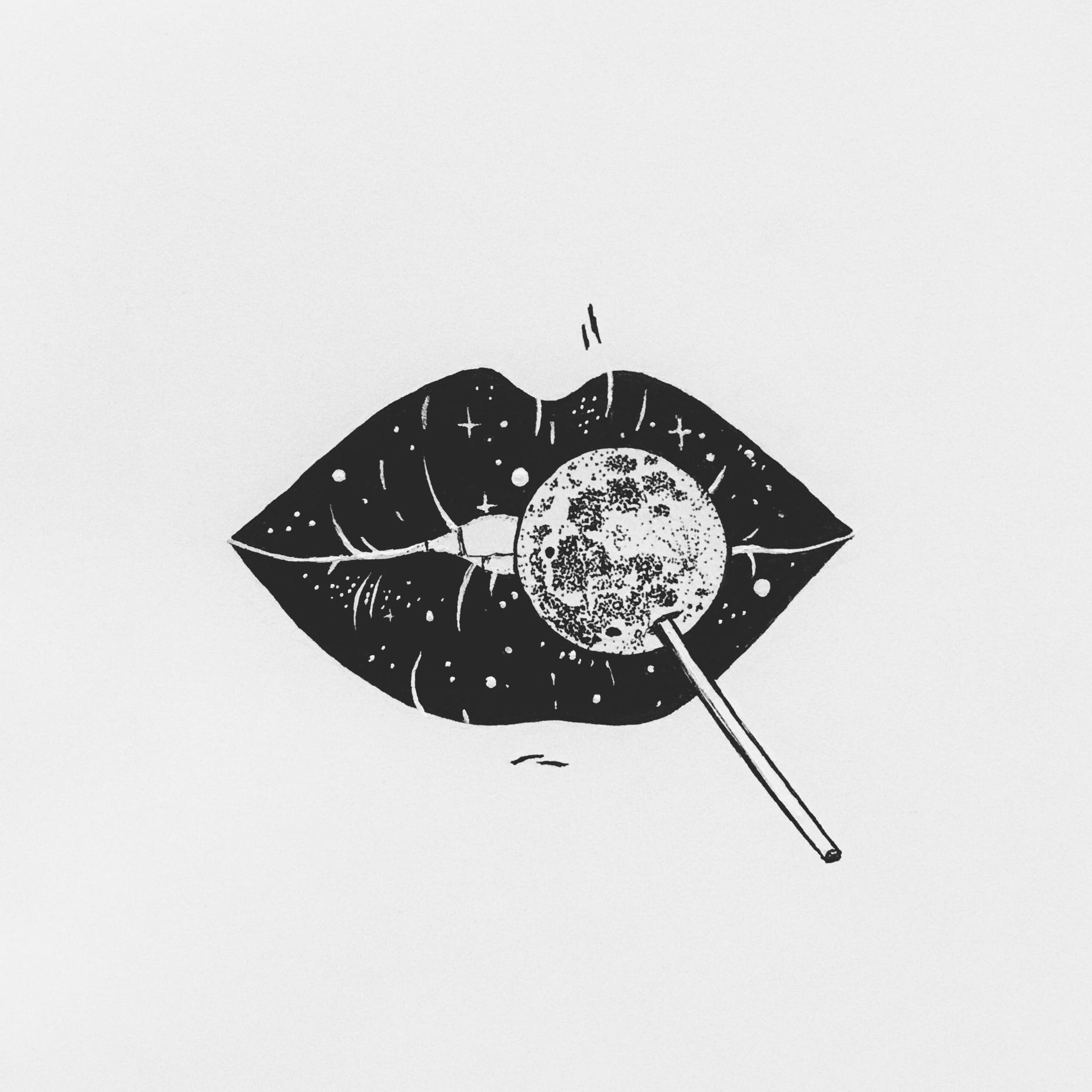 lips-moon